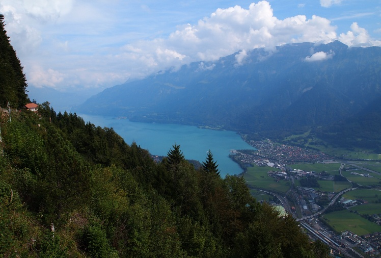Lake Brienz from 4,337 feet.