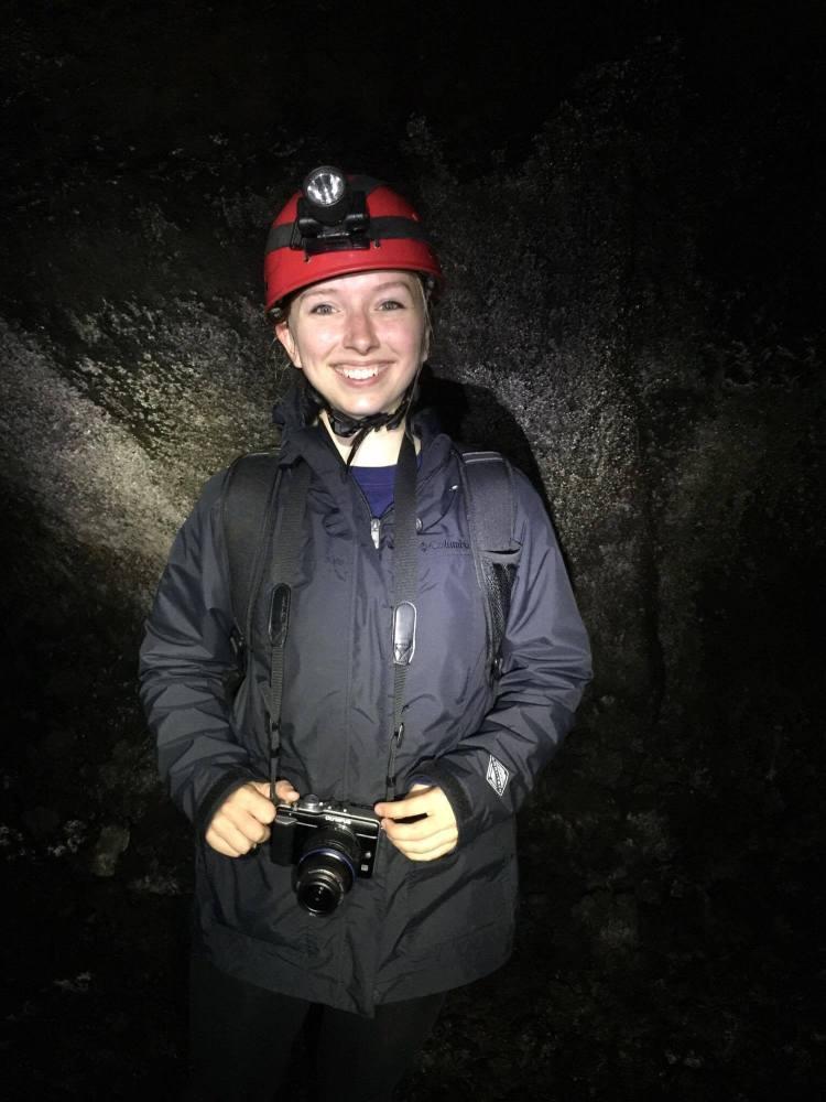 One very happy explorer!