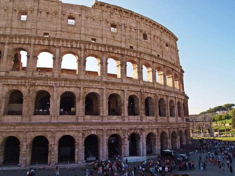 The Colosseum is so big!