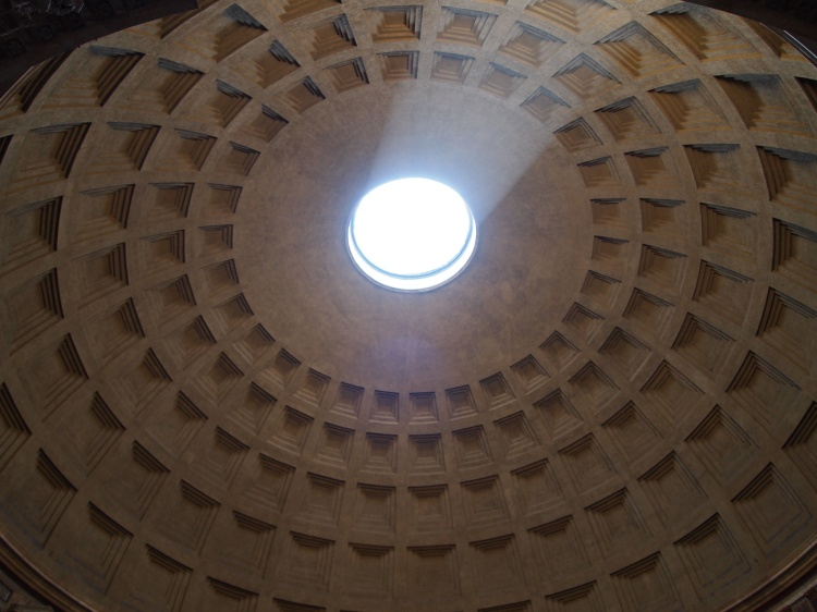 The Pantheon's domed ceiling was one of that era's greatest feats of engineering and architecture.