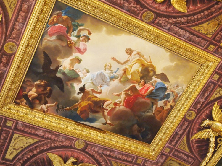 Gods on the ceiling!
