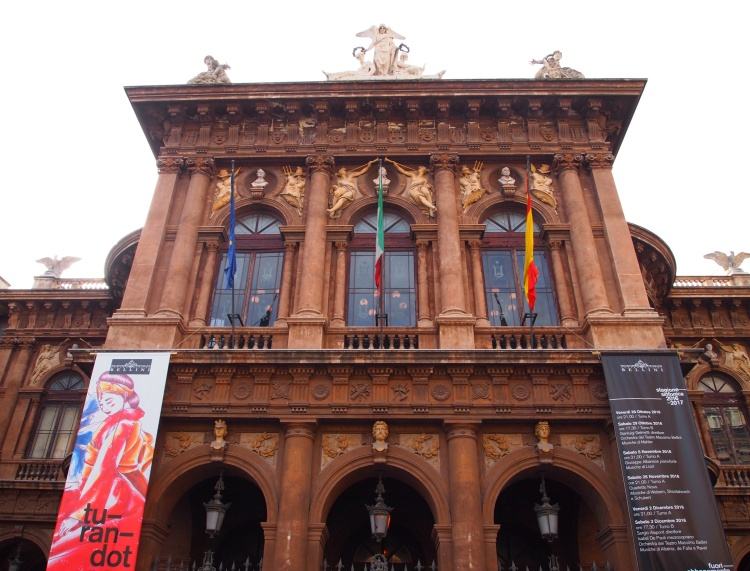 Visiting the opera house! I didn't see any operas, but the building itself was stunning.