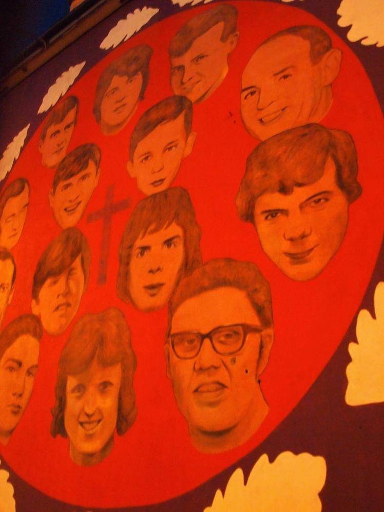 Derry murals