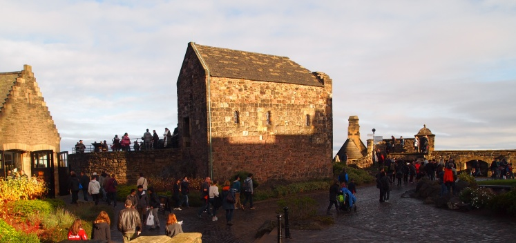 St. Margaret's Chapel is the oldest building in Edinburgh. It's thought to be 900 years old!