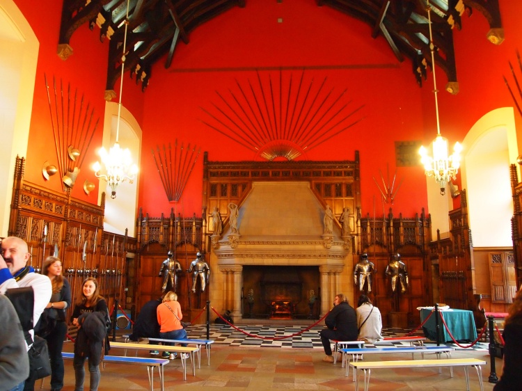The Great Hall was completed in 1511, and was used for gatherings, dinners, and government meetings.