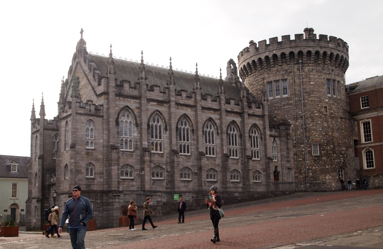 Dublin Castle's Record Tower is the last remaining piece of the castle's original structure. It was completed in 1228. Next to it is the Chapel Royal, a stunning example of classic Gothic architecture, built some 600 years after the tower.